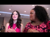 Yvette Nicole Brown and Alison Brie of 'Community' at Comic-Con
