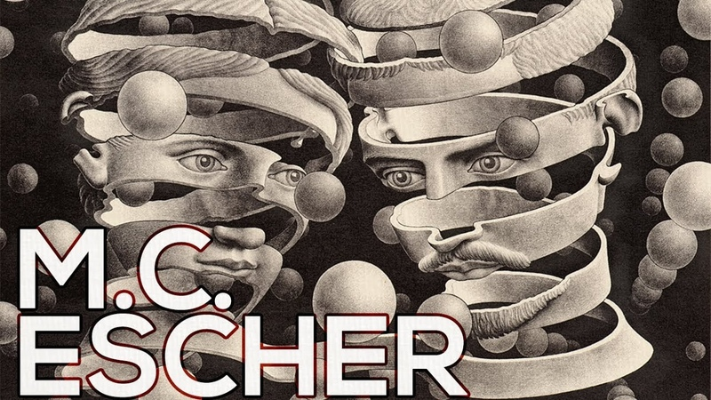 M.C. Escher: A collection of 222 works (HD)