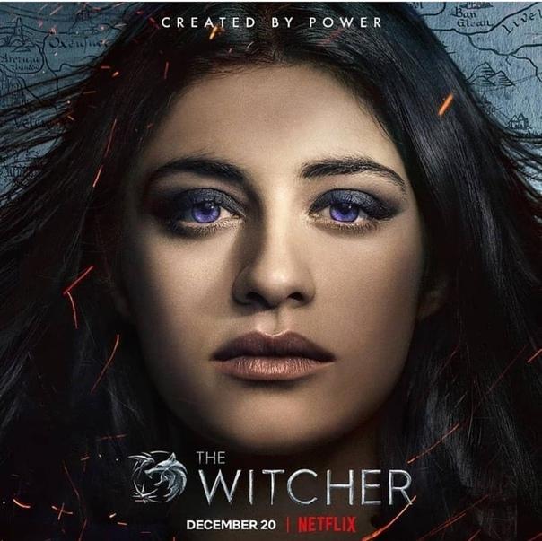 Главные герои «Ведьмака» на новых постерах сериала