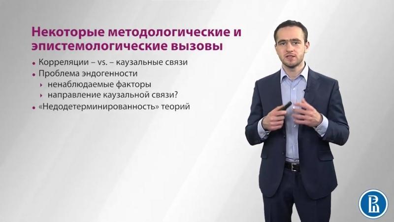 1.10 Некоторые методологические и эпистемологические вызовы политической науки - Илья Локшин