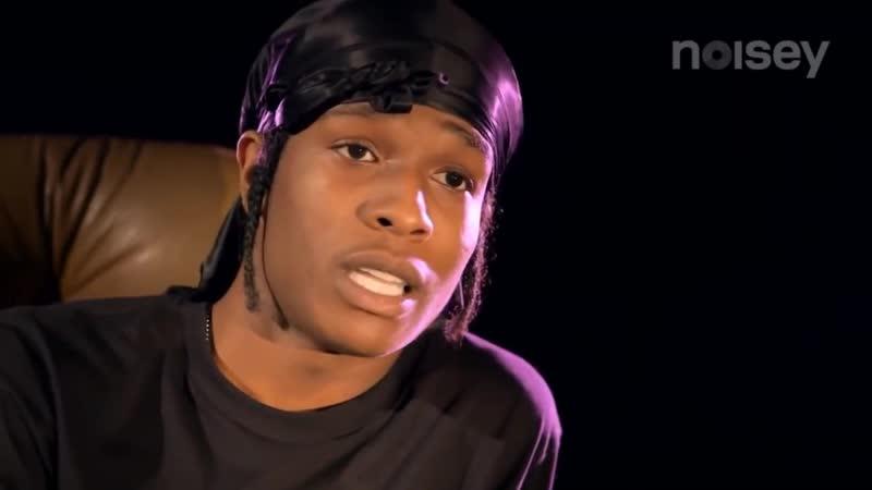 A$AP Rocky про белых нигеров.