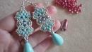 Tutorial Orecchini Fiocco con superduo perle e rocailles