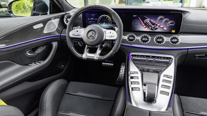 2019 Mercedes-AMG GT 63 S 4MATIC 4-Door Coupe - the High Driving Dynamics of the