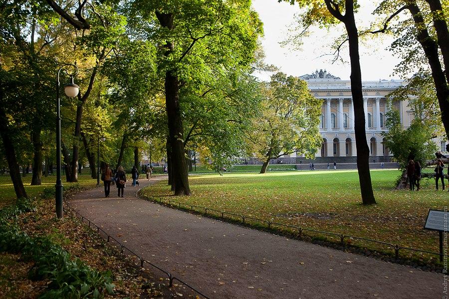 Санкт-Петербург экскурсия Михайловский сад