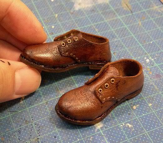 Обувь для кукол своими руками из полимерной глины