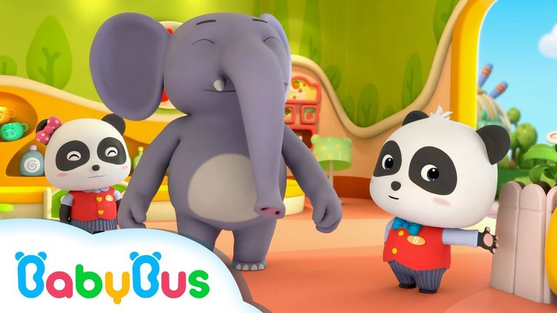 Welcome to Baby Panda Restaurant | Restaurant Server | Kids Occupation Songs | BabyBus