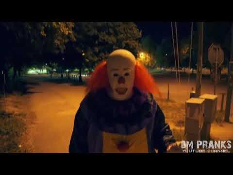 Подборка пранка с клоуном убийцей 720