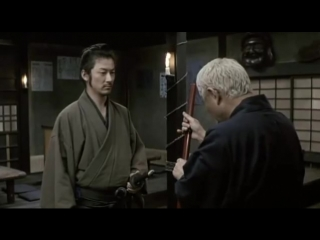 Затойчи - бой с ронином (Такеши Китано)