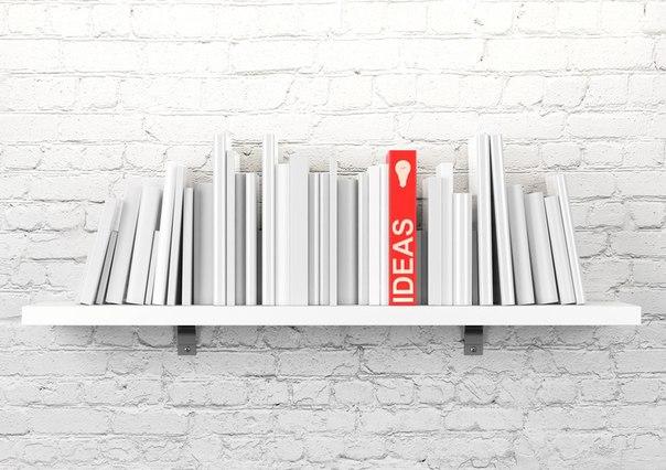 Полкомания: 20 идей по размещению книг и аксессуаров в доме →