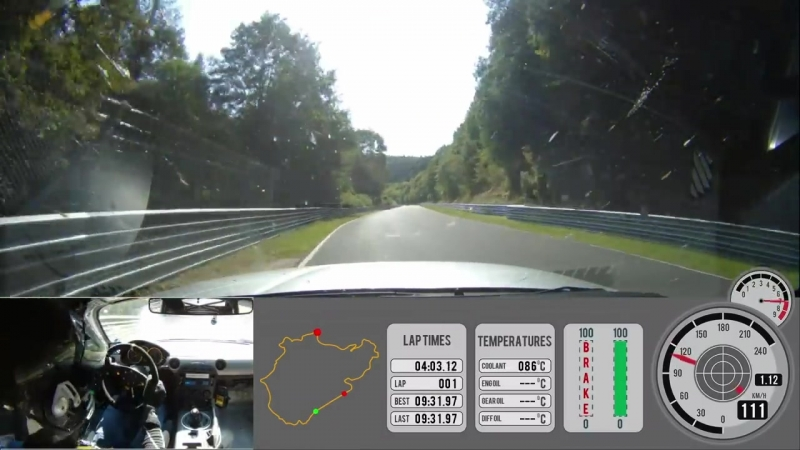 Nurburgring Nordschleife BTG 07_37.38 Mazda MX-5 Miata NC 2,0