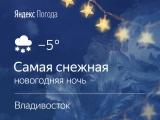 Погода в новогоднюю ночь