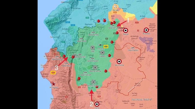 Reporte Semanal 8.Sep.18 Guerra Siria Idlib comienza la ofensivaIrak Basora en Llamas