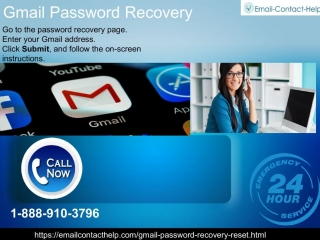 Contact Gmail Password Recovery Immediately For Instant Help 1-888-910-3796