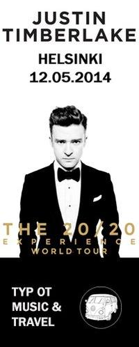 Justin Timberlake - Хельсинки - 12.05.14 - M & T