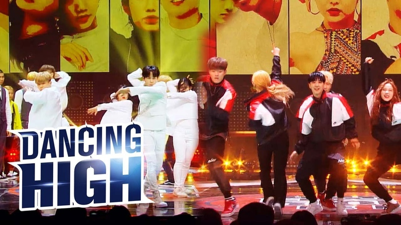 2018 10 The Big Dipper Shining for Victory Team Lee Seung Hoon Dancing High Ep 7
