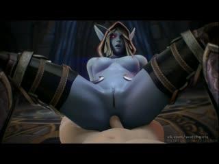 Vk.com/watchgirls rule34 world of warcraft sylvanas 3d porn sound