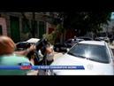 HD - Cinegrafista agride black bloc que o ameaçou: 'você é o próximo' - Cidade Alerta (10/02/2014)