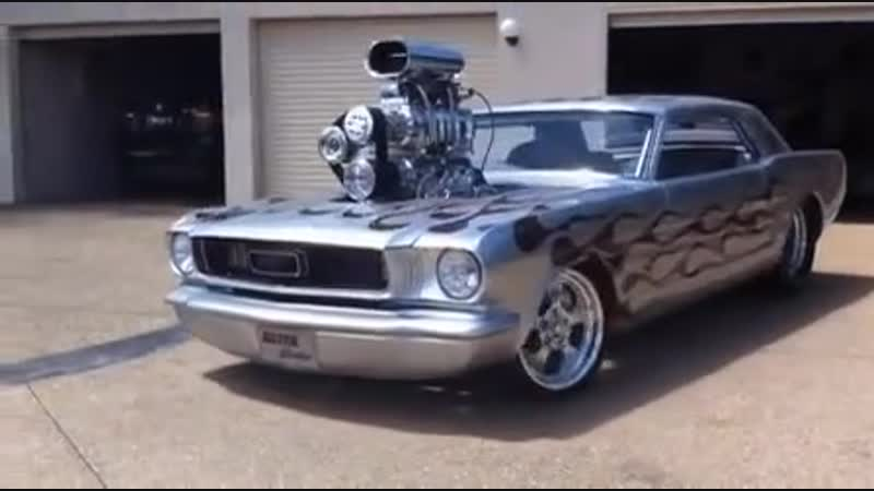 Ford Mustang Silver Bullet