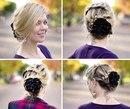 """Если вы предпочитаете красоту, элегантность и романтичность в образе.  Как сделать  """"бант """" из ваших волос.Совсем..."""
