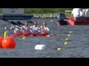 Brandenburg 2014 ECA European Canoe Sprint Championships K4 500m Women