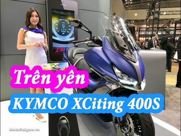 KYMCO XCITING S 400i 2018 Review in Tokyo Motorcycles Show