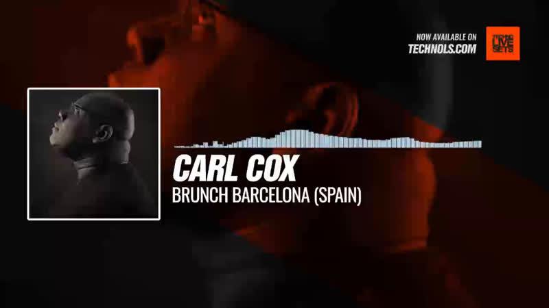Carl Cox - Brunch Barcelona (Spain) Periscope Techno music