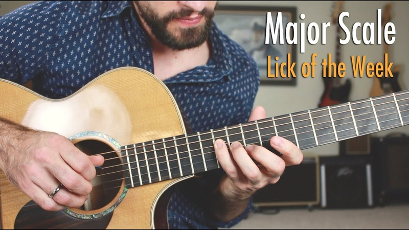 Unlock the Major Scale | You'll Love this Melodic Lick!