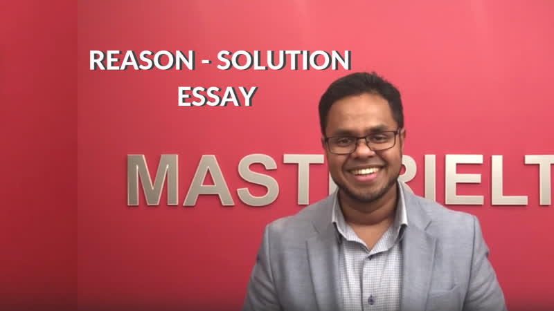 How to write a reason-solution essay