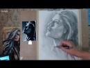 Портрет карандашом, коротко о мастер-классе