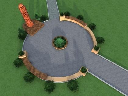 В Лисичанске хотят создать дубовую скульптуру