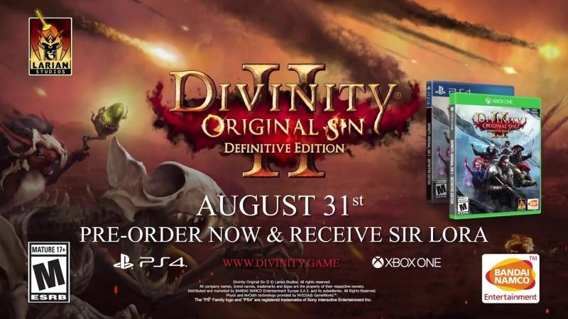 Divinity_ Original Sin 2 - Sir Lora Trailer _ PS4, X1