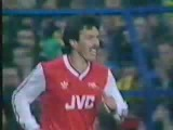 Spurs 1 Arsenal 2 in THAT semi final replay 1987