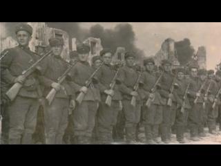 Глаза молодых солдат...