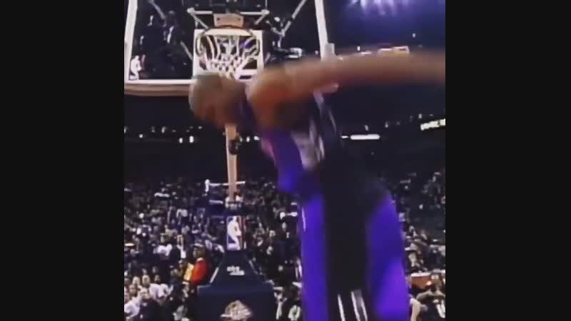 Best dunk contest perfomance