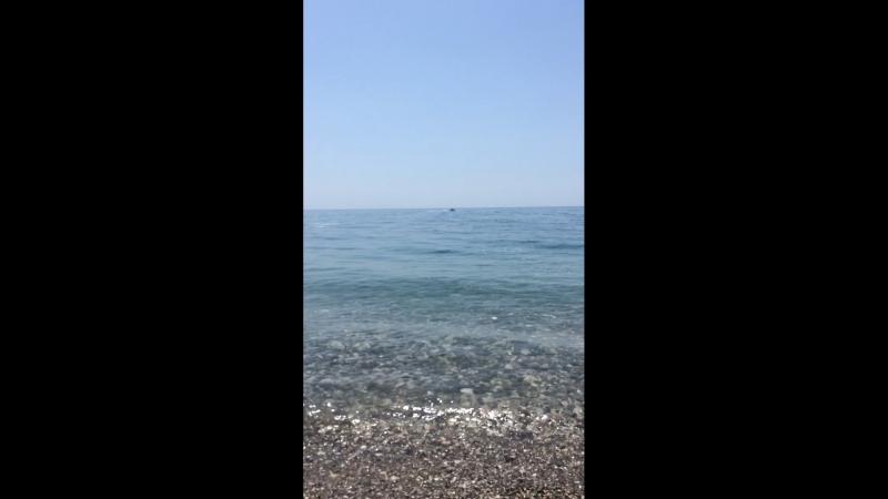 Гагра пляж 🏖 я за рулем )