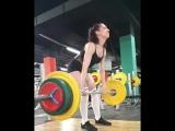 Света Устюжанина - тяга 100 на 5