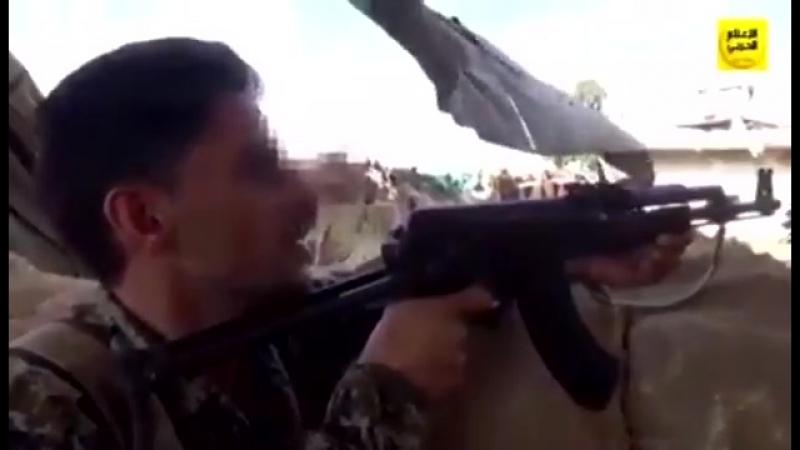 Видео от защитников Foua и Kefraya север провинции Idlib
