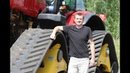 Трактор МТЗ 3525 Беларус на гусеницах тест-драйв Автопанорама
