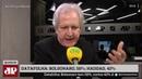 Datafolha Bolsonaro tem 16 pontos de vantagem sobre Haddad em votos válidos