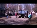 ДНР, город Селидово, советский субботник - 05.04.2018