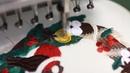 Рождественский венок. Свитшот с вышивкой.