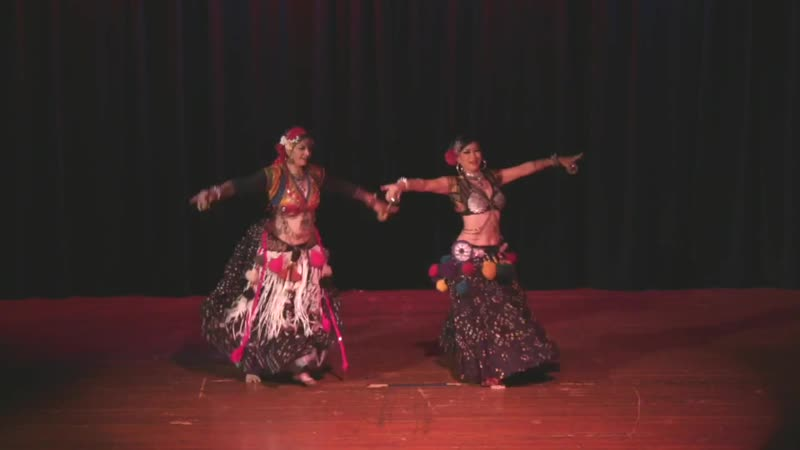 Anita Lalwani Kae Montgomery at Stardust Follies 2017