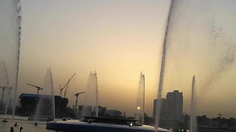 Дубай. Поющие фонтаны 1 в Аль-Маджаз