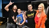 AJ Styles and Renee Young surprise two WWE action figure collectors at SummerSlam