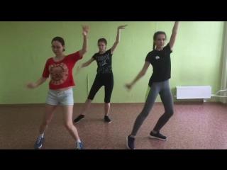 Зачет8: Ира, Женя, Регина - Gfriend - Time for the moon night (dance practice by X-Motion)