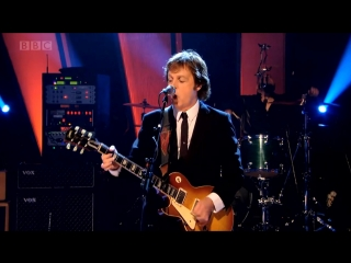 Paul McCartney & Wings. Let Me Roll It (Live on Later.with Jools Holland, 2010)
