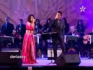 Hajar Adnane & Saad Lamjared - Dana Dana [Festival Awtar 2010]