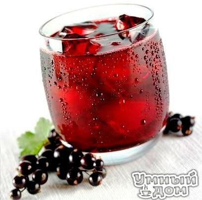 Домашнее вино из черной смородины!!! Ингредиенты 3 кг. черной смородины (не мыть, только перебрать) 3 кг. сахара 7 литров кипячёный воды ком. температуры 1 бутыль стеклянная на 10 литров 1 перчатка резиновая медицинская 40 см.резинки бельевой 1 черный пакет целлофановый – большой. Как приготовить Смородину измельчить в мясорубке, блендоре. Положить ягоды в бутыль, добавить сахар, влить воды до плечиков в бутыли оставив место для брожения…. Надеть резиновую перчатку на горлышко бутыли и…