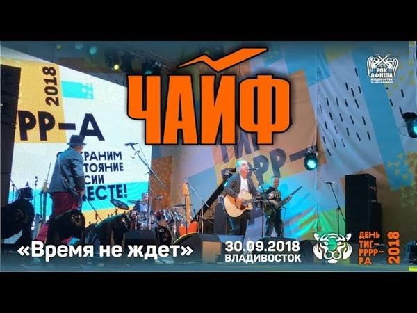 ЧайФ - Время не ждет (Live, 30.09.2018, День Тигра, Владивосток)