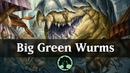 Big Green Wurms Standard Pauper Deck Guide MTG Arena